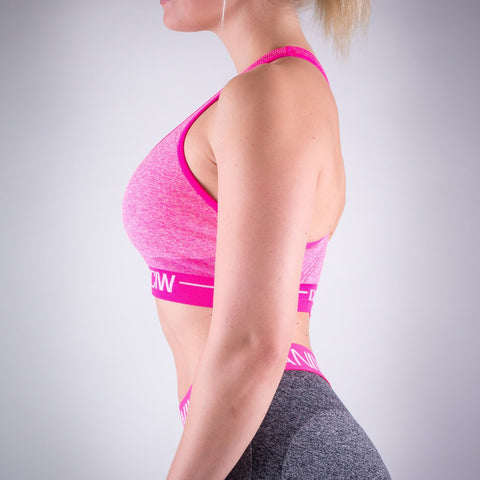 Seamless Sports Bra - Pink