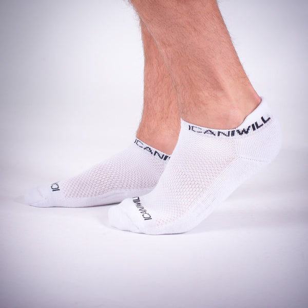 Perform  Unisex Socks - White