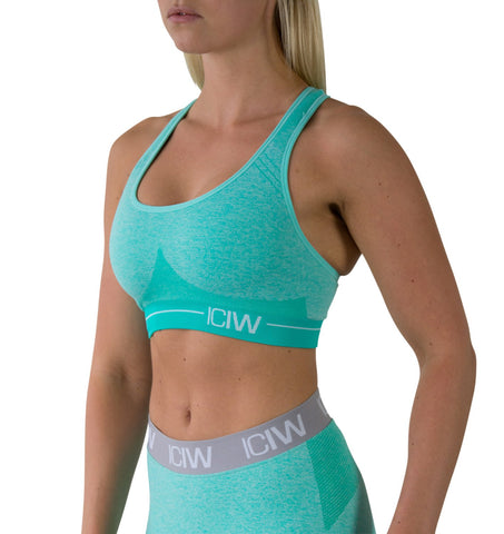 Seamless Sports Bra - Mint