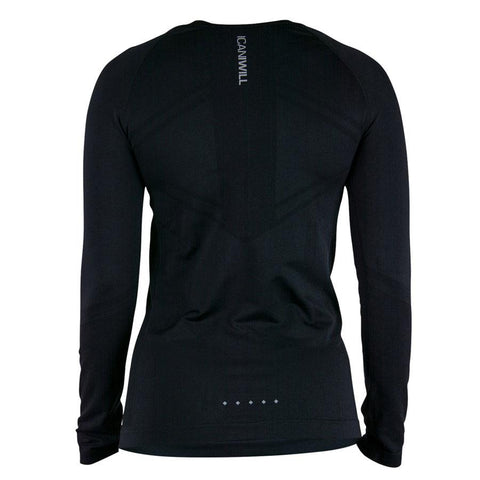 Seamless Long Sleeve - Black