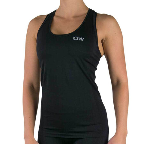 Seamless Tank Top - Black