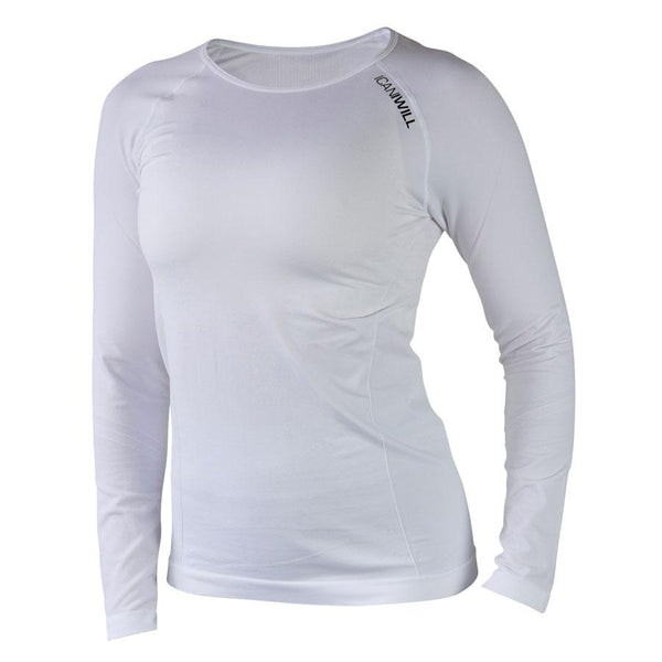 Seamless Long Sleeve - White