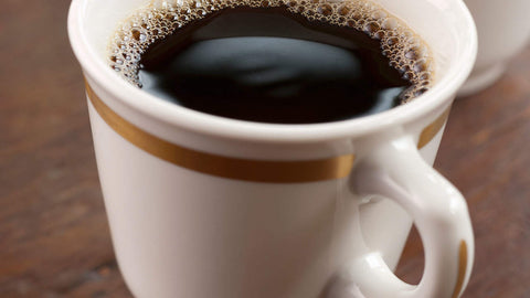 Drink black coffee
