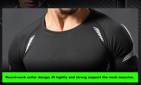 Men Compression Fitness & Bodybuilding Tracksuits