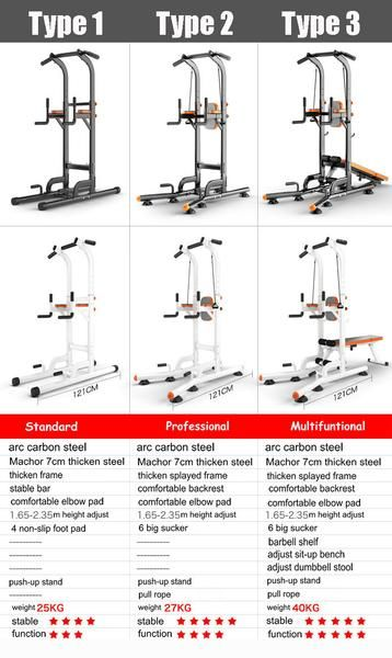 Muiltifunctional household pull-up, Indoor single parallel bars, fitness equipment Home Gym