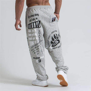 New Running Jogging Pants Men Cotton Soft Joggers Sweatpants - Amal Hantash Fitness