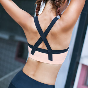 Women's Yoga Push Up Sports Bra