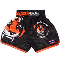 Black Tiger Muay Thai MMA Men's Boxing Shorts