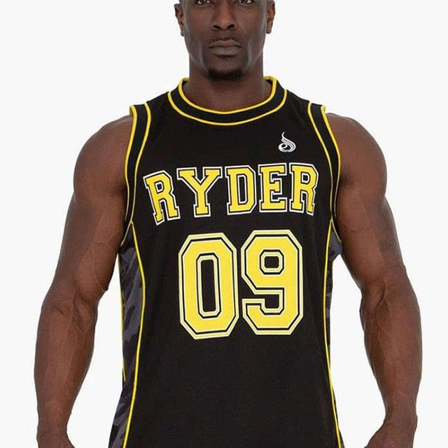 Ryder 09 Bodybuilding Sleeveless Tank Tops For Men, Camo