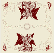 Ultimate Fusion 2 Player Cloth Playmat Ivory/Burgandy