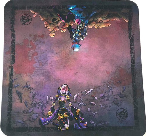 Dark Puppets Revised Full Color 2 Player Cloth Playmat