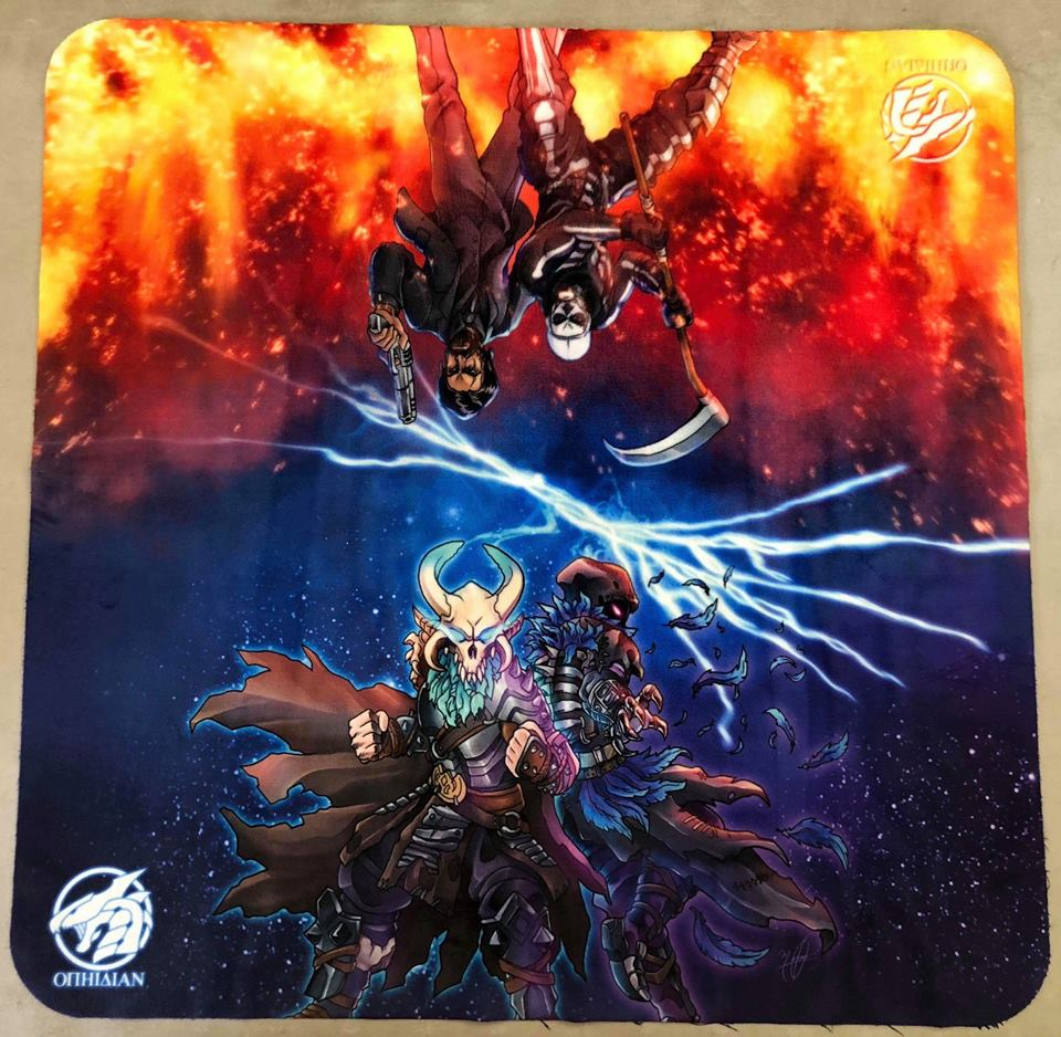 Royale 2 Player Cloth Playmat