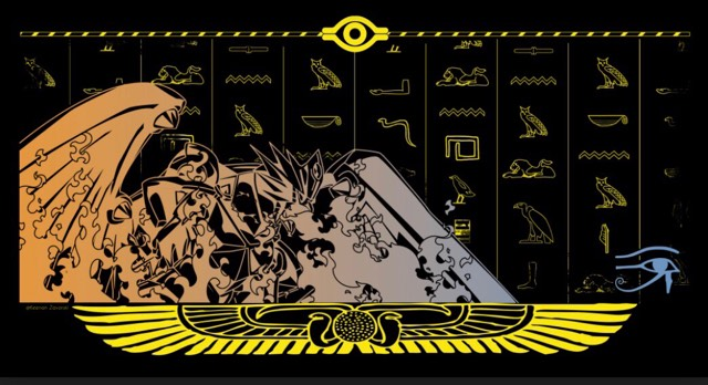 Horus 1 Player Playmat 1/5 LED Stitched