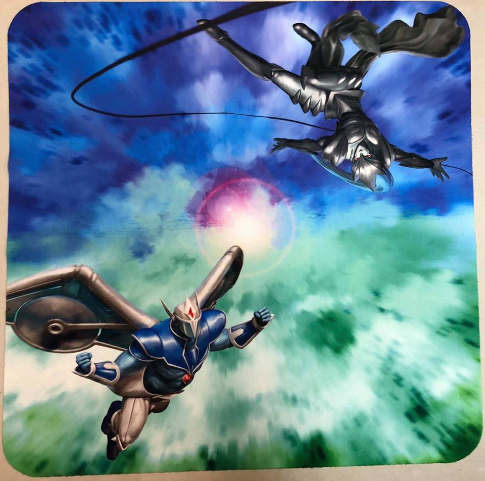 Mist 2 Player Cloth Playmat