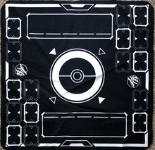 Stadium Black/White 2 Player Cloth Playmat