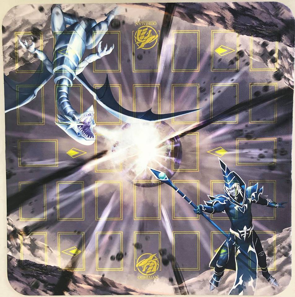 Rivals Reborn Full Color 2 Player Cloth Playmat With Zones