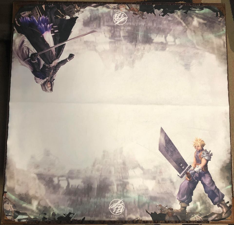 Eternal Rivalry 2 Player Cloth Playmat