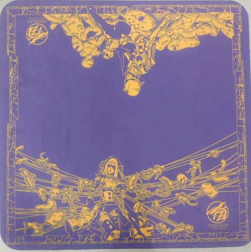 Dark Puppets Purple/Gold 2 Player Cloth Playmat