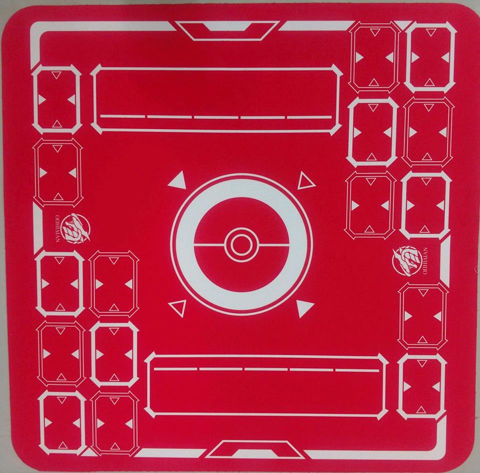 Stadium Red/White 2 Player Cloth Playmat