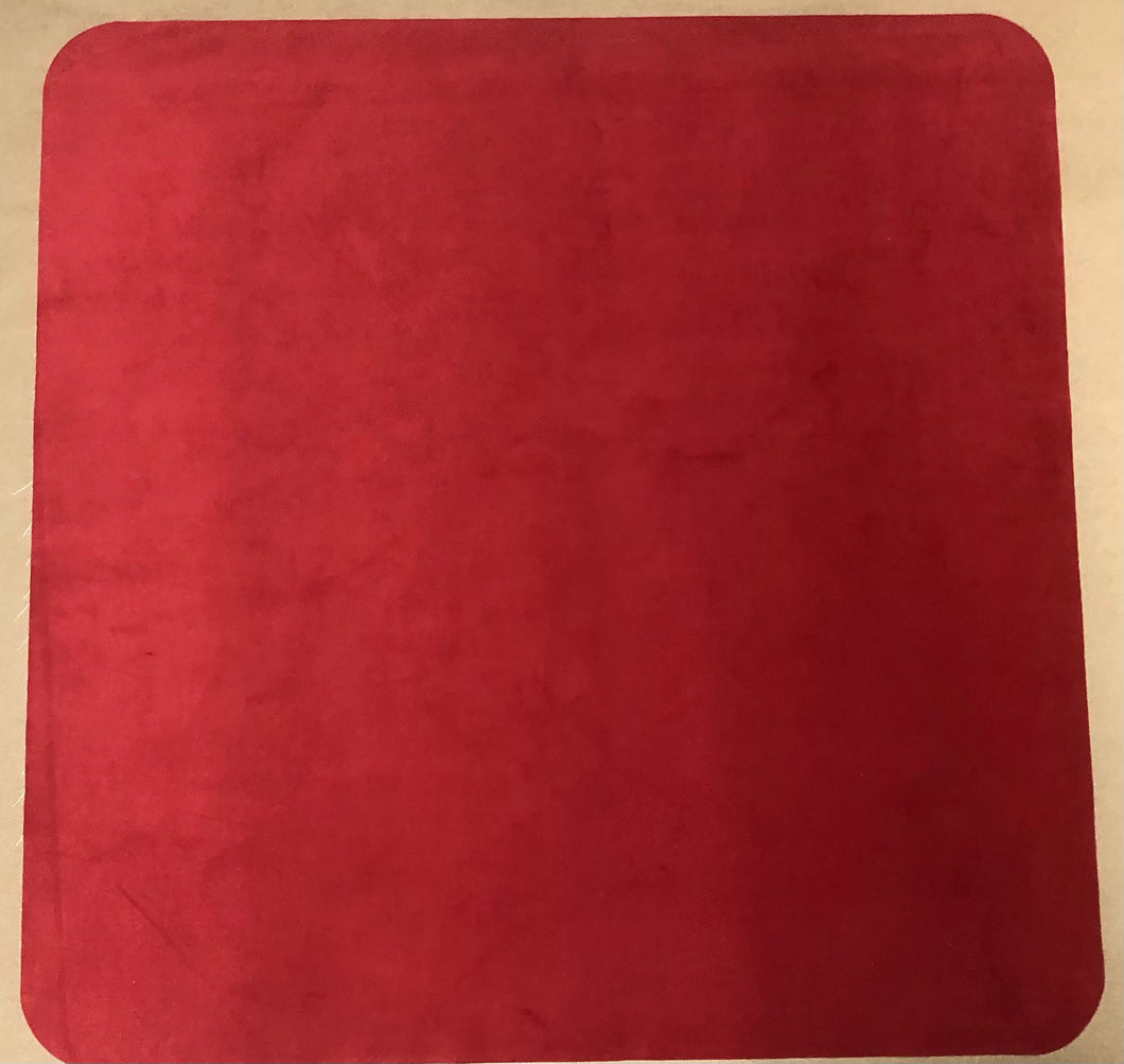 Red 2 Player Cloth Playmat