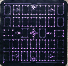 Linked Black/Purple 2 Player Cloth Playmat