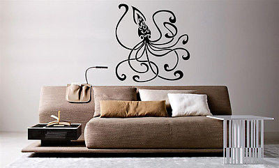Wall Mural Vinyl Decal Sticker Tattoo Tribal Octopus AL568