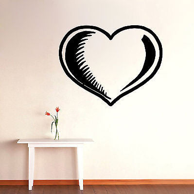 Wall Mural Vinyl Decal Sticker Room Big Heart Interior Decor KJ167