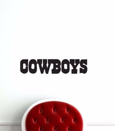 Dallas Cowboys NFL Team Superbowl Wall Decal Gm0376 FRST