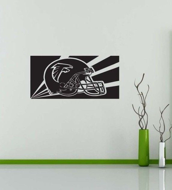 Atlanta Falcons NFL Team Superbowl Wall Decal Gm0435 FRST
