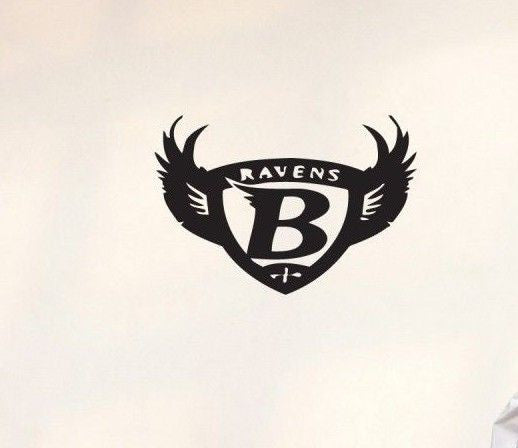 Baltimore Ravens NFL Team Superbowl Wall Decal Gm0257 FRST