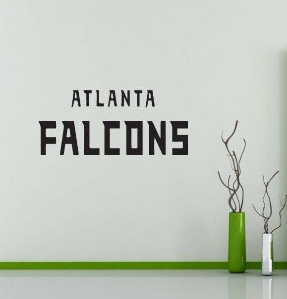 Atlanta Falcons NFL Team Superbowl Wall Decal Gm0431 FRST