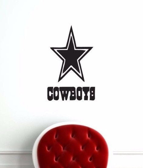 Dallas Cowboys NFL Team Superbowl Wall Decal Gm0374 FRST