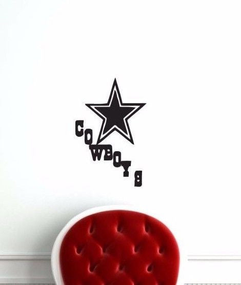 Dallas Cowboys NFL Team Superbowl Wall Decal Gm0375 FRST