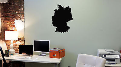 Wall Mural Vinyl Decal Sticker Germany Map AL310