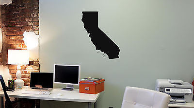 Wall Mural Vinyl Decal Sticker California Map AL324