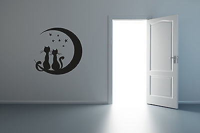 Wall Mural Vinyl Decal Sticker CAT DOG R025