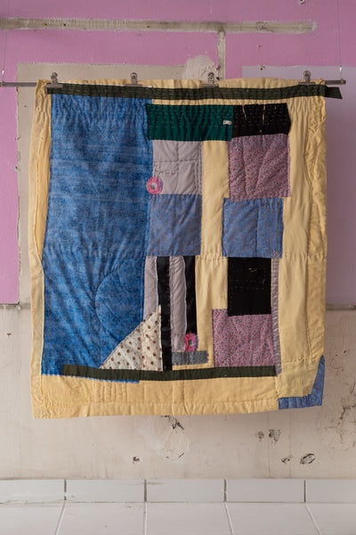 One-Of-A-Kind RUN Home Patchwork Quilt