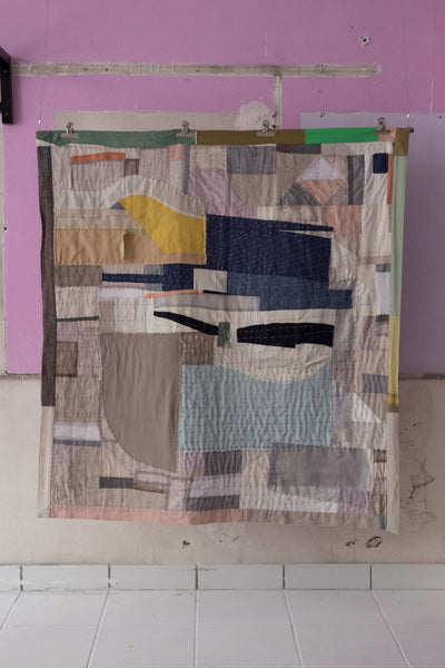 One-Of-A-Kind Patchwork Quilt