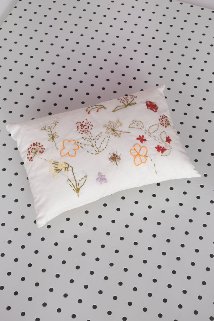 Floral Baby Pillow