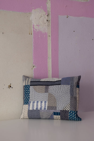 One-Of-A-Kind Patchwork Pillow