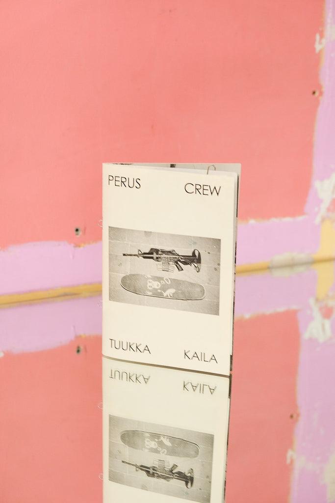 The Community - Zine Corner Online and Offline in Paris -  Perus Crew by Tuukka Kaila