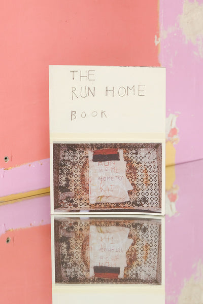 The Community - Zine Corner Online and Offline in Paris -  The Run Home Book by Kiva Motnyk and Susan Cianciolo