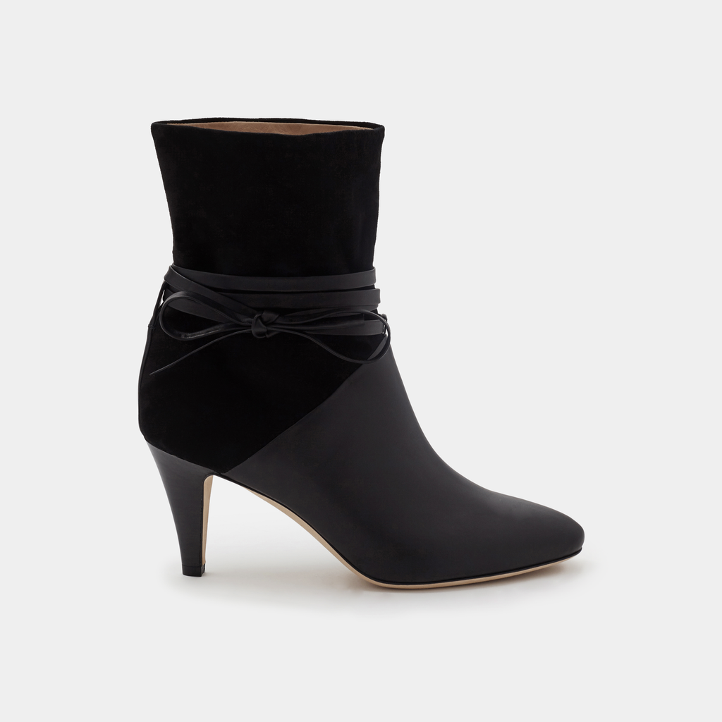Sclarandis Sonia Boot Black Leather