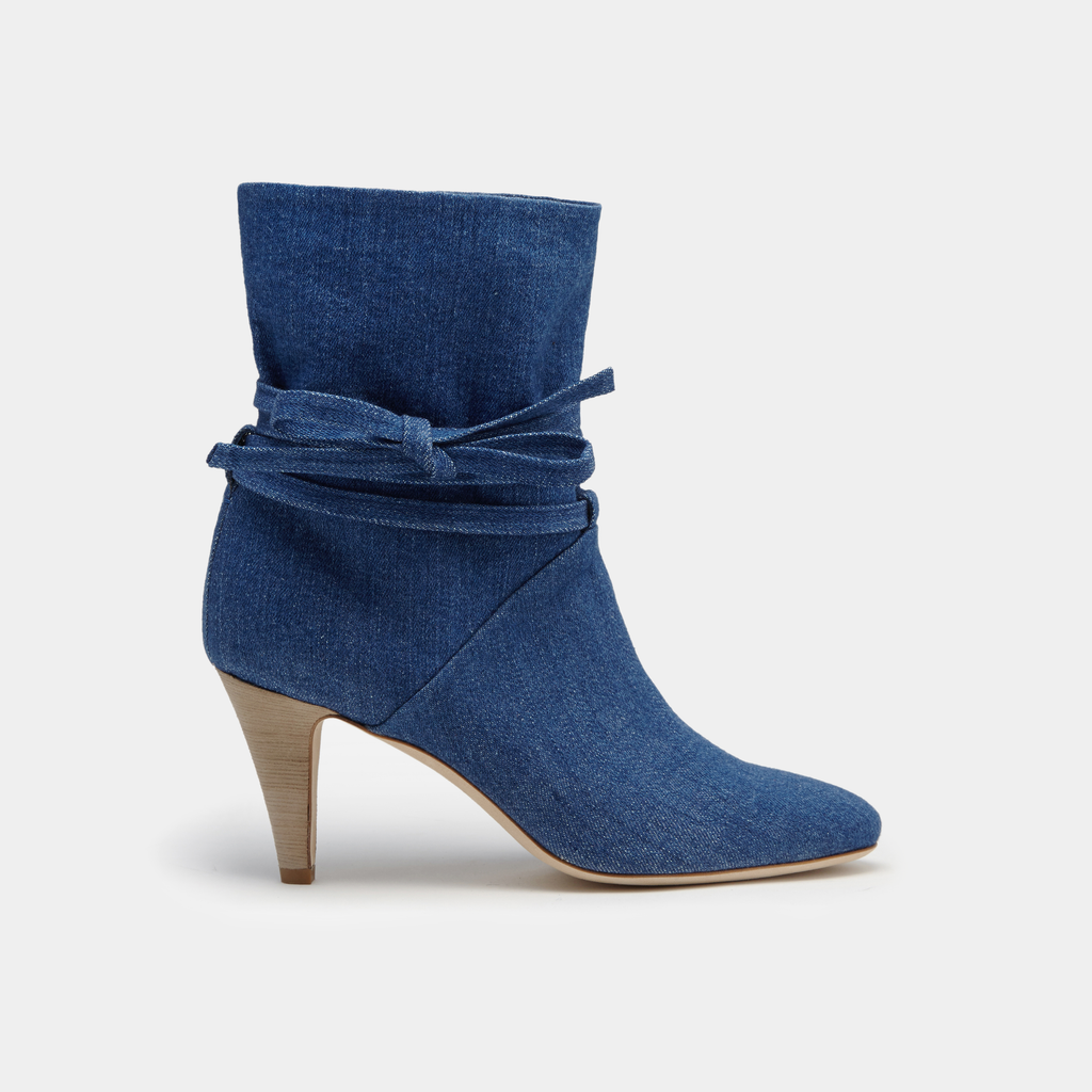 Sclarandis Sonia Boot Blue Denim