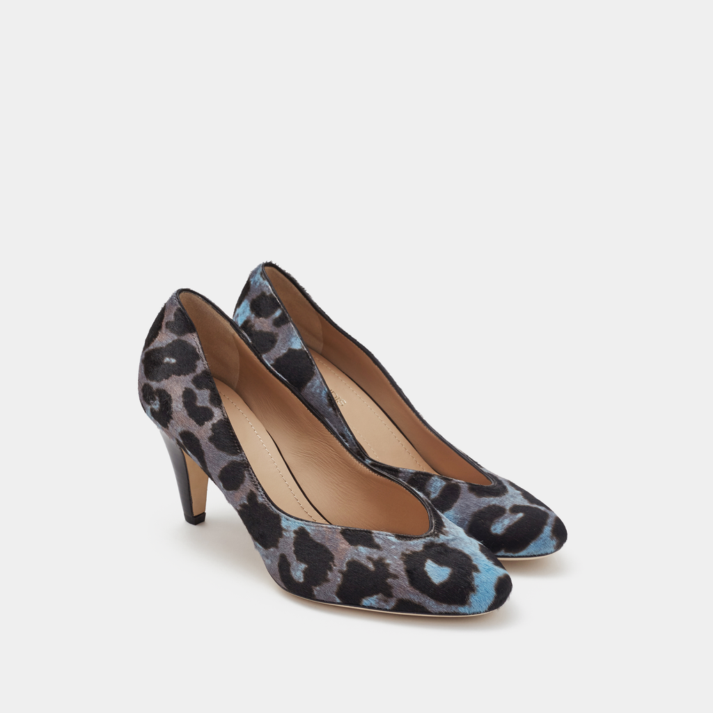 Sclarandis Stella Pump Blue Haircalf