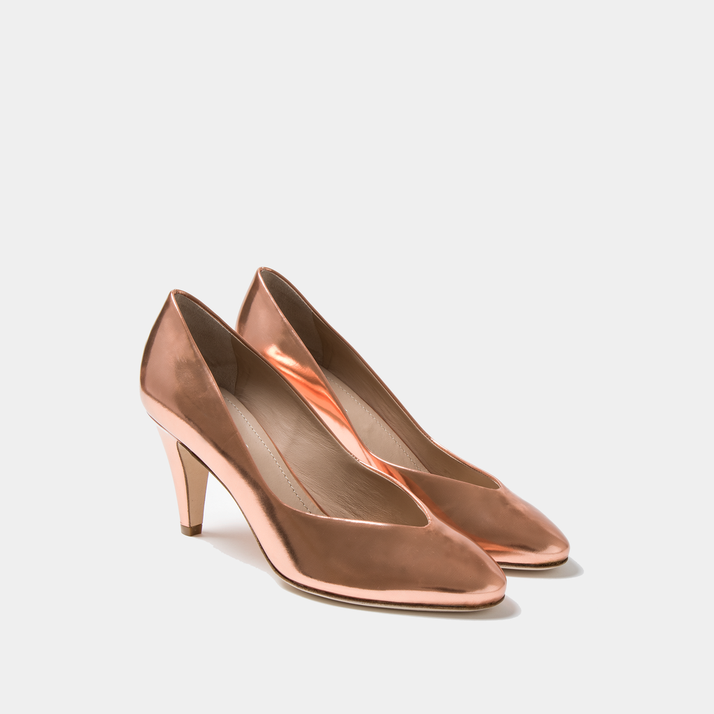 Sclarandis Stella Pump Rose Metallic