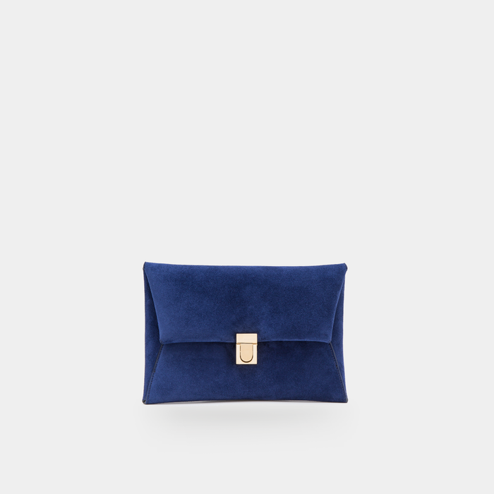 AMELIA - Midnight Blue Suede
