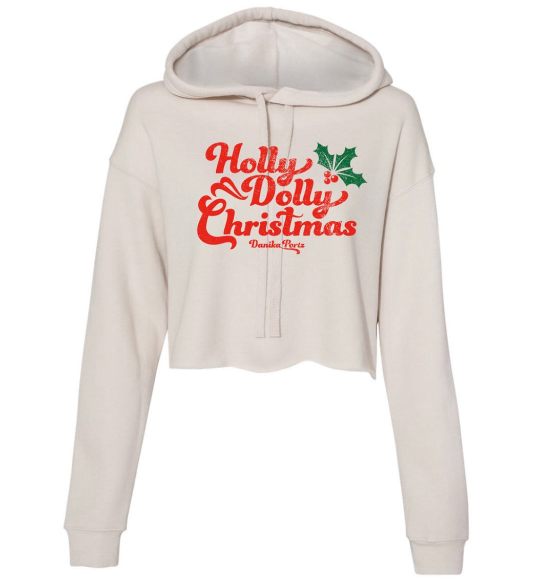 Holly Dolly Crop Sweatshirt