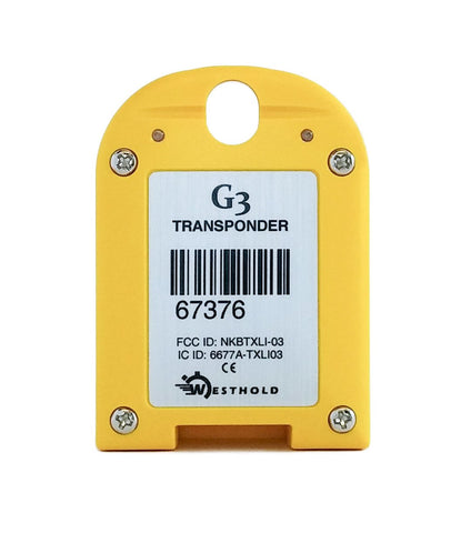 Yellow Transponder