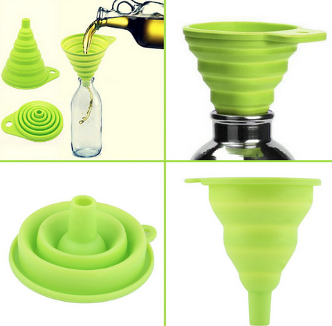 High Quality Silicone Funnel